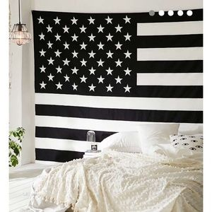 Urban outfitters flag tapestry